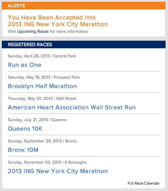 So it begins again…  It's not going to be my first marathon anymore, but it doesn't make me any less excited to run the streets of New York with 40,000 fellow runners!