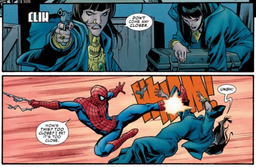 comicskickassery:  Avenging Spider-Man #7  You'll be missed, Peter Parker.