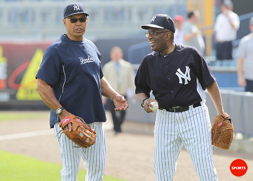 usatodaysports:  With several stars ailing, the Yankees turn to Al Roker.    Mr. October and Mr. Weather. There are no limits to how sad this Yankees season is shaping up.