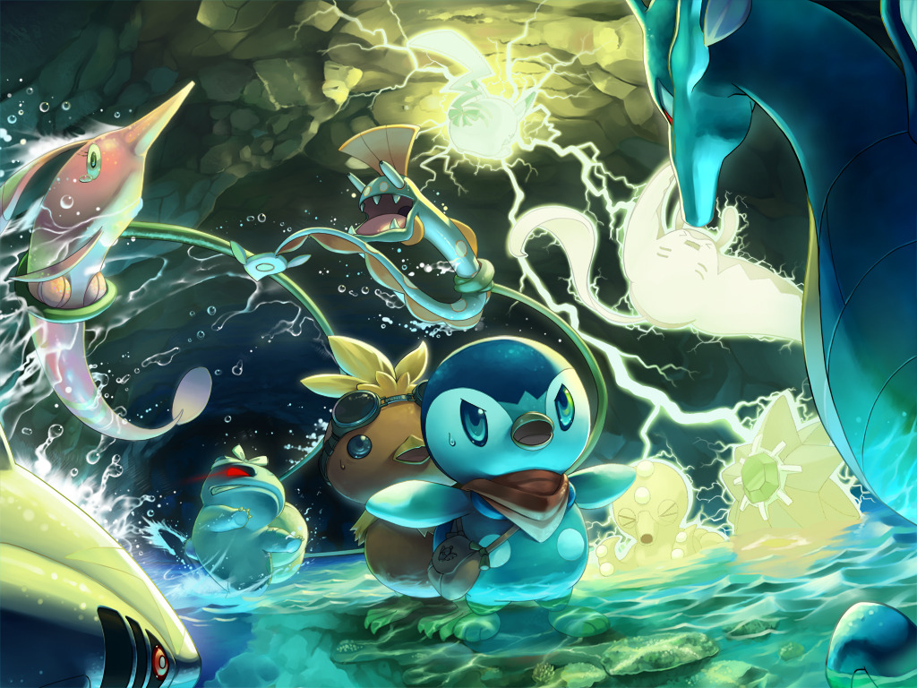 "Pokémon Mystery Dungeon: Gates to Infinity releases to North America on March 24 It will be the first Mystery Dungeon 3DS game to release in the States, and hopefully won't be the last — I'm still disappointed that Mystery Dungeon: Shiren the Wanderer 5  (on DS) never made it outside of Japan. Along with online multiplayer, this Pokemon dungeon-crawler features a new gimmick:   ""Players can gain access to additional Mystery Dungeons through 'Magnagates'. To open the Magnagates, players scan circular objects in the real world using the Nintendo 3DS Camera, allowing them to continue their adventure, even after they have completed the main Mystery Dungeons.""   The image above, by the way, isn't from Gates to Infinity (the starters this time around are Pikachu, Snivy, Tepig, Oshawott, and Axew) — it's just some awesome art I found in birdman@jupiter's gallery, which has so many beautiful Pokemon pieces. BUY: Pokemon Mystery Dungeon games, Pokemon B/W Version 2"