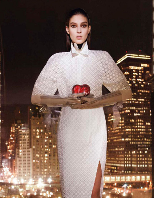 Kati Nescher photographed by Glen Luchford for Vogue Paris Feb 2012