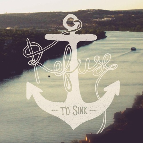 Collabo w/ @katie__hicks // #handlettering #lettering #illustration #anchors #inspiration #photography #design #collaboration