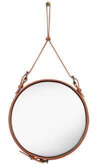The Adnet Collection (vía Adnet Mirror | Ø45 | Tan | GUBI)