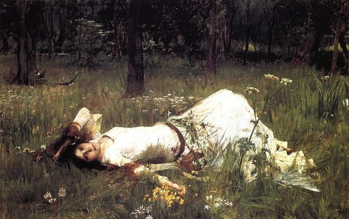 mollysteele:  Ophelia by John William Waterhouse