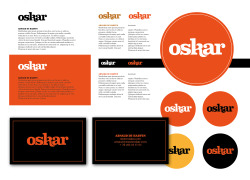 weareoskar:  OUR GRAPHIC ID DONE BY OUR FRIENDS AT RICE CREATIVE (VIETNAM)  rice-creative:  Finishing up the visual ID of oskar a new Brussels based creative company
