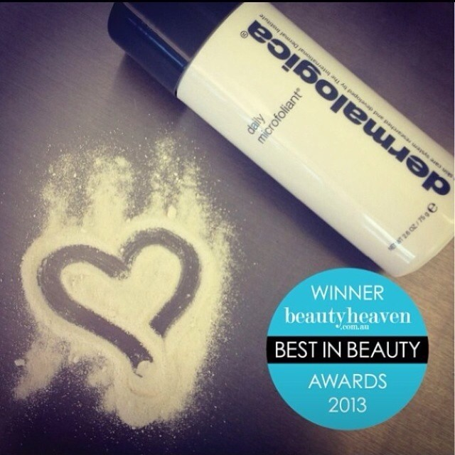 Have you tried everyone's favourite exfloliater, Dermalogica's Daily Microfoliant? (at Bare Essentials Skin Bar)