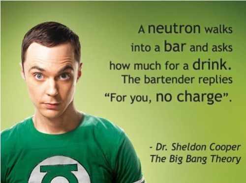 I only watch Big Bang Theory once in a while, but when I saw this I thought of some of my favorite #education people.