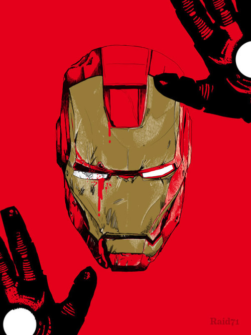 Iron Man form my solo exhibition in NYC