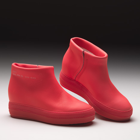 "French architect Jean Nouvel unveiled a pair of leather and rubber boots  in Milan last week. The architect calls the shoes ""Pure"" and states that the design ""reduces the concept of a shoe to its purest form"".  I would  argue that this is not the purest form a shoe can take. Different shoes come with different intentions, meanings, and uses, and to say that this is the only pure concept of footwear is a little naive. Shoes are no longer utilitarian in nature. I appreciate what Nouvel has done here, even though this was a very masculine viewpoint to take. I love a good flat shoe, and I love a good minimalist approach. But many women would agree that a shoe in its purest form is not a monochromatic heavy-soled rubber/leather bootie. Shoes have evolved along with culture. Just the other day I was writing about the history of the platform shoe, and how both practicality and ego played key roles in developing over hundreds of years what could now be written off as just a fad. My point is simply that shoes have more meanings than Nouvel addressed with thie project, and many shoes have a long history that shaped them into what they are now. Creative though they may be, Nouvel's shoes are not the penultimate representation of footwear."