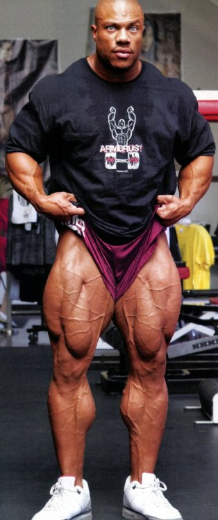 mitos:  Phil Heath by Kevin Horton