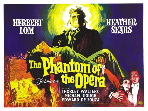 beautyandterrordance:  Right now: The Phantom of the Opera, 1962