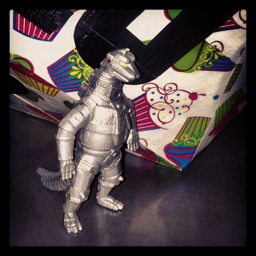 Say goodnight, Mecha Gojira!! #kaiju #robo #godzilla #toy