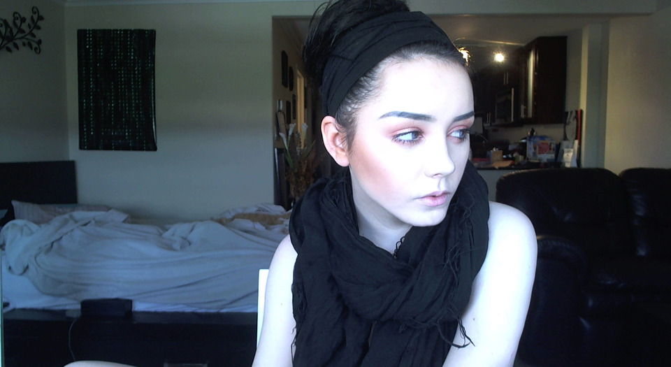 my webcam makes me look like a ghost