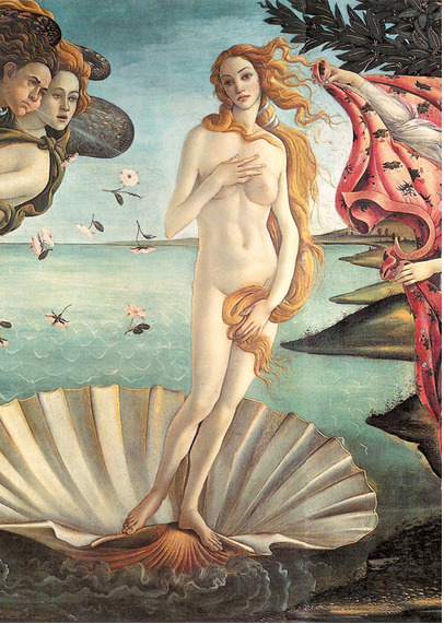 "Nazareno Crea's ""Birth of Venus,"" from his Alpha Beauties series, via Kottke.  As a lady, I'm no schlub at holding women to certain visual standards, but there were a few in here that were genuinely mind-blowing."