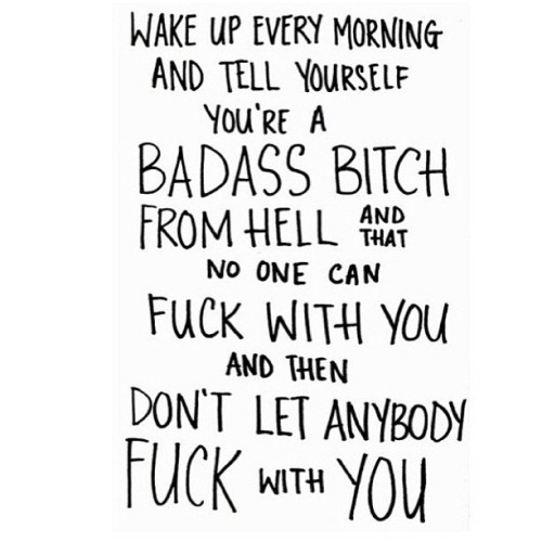 I didn't even sleep yet and this is y attitude for the day. Should be yours too. 💁 #straightlikethat #instapic #instagood #mantra #inspiration