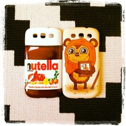 new cases #SG3 📱la collection s'agrandie ! #nutella #starwars #ewok