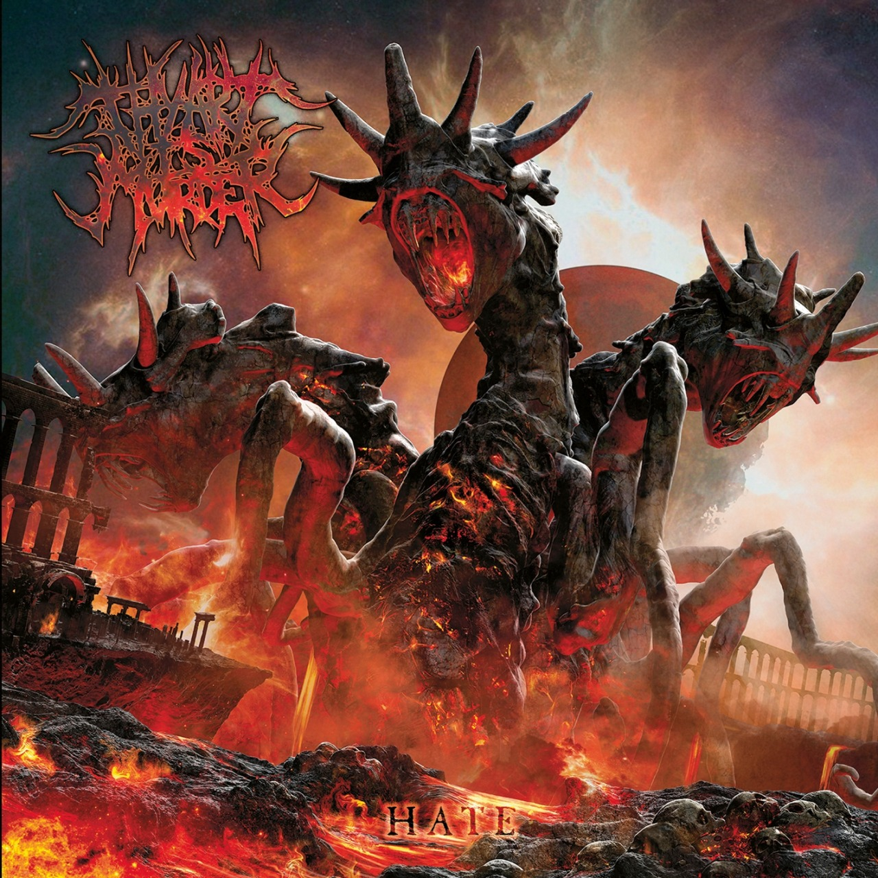 Review of Hate by Thy Art Is Murder on Nuclear Blast Records: http://www.culturebomb.net/2013/04/09/review-thy-art-is-murder-hate-nuclear-blast-records/
