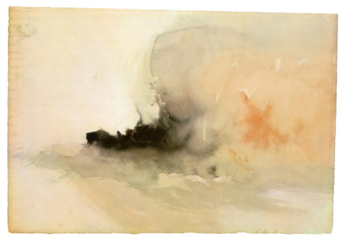 Old art, is good art. Sometimes.    William Turner, burning ship,1830
