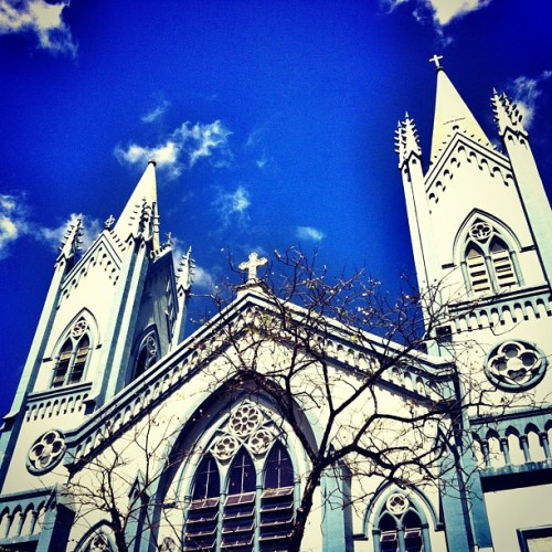 Immaculate Conception Cathedral. #church #palawan #instapic #instacool #ig #igers #ignation #instapic #igpalawan #instamood #instaplace #igersphilippines #picoftheday #philippines #photooftheday #cathedral  (at Immaculate Concepcion Church)