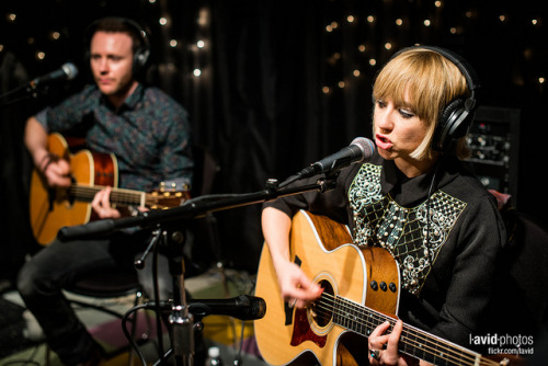 The Joy Formidable at KEXP - Seattle on 2013-03-27 - _DSC6631.NEF by laviddichterman on Flickr.