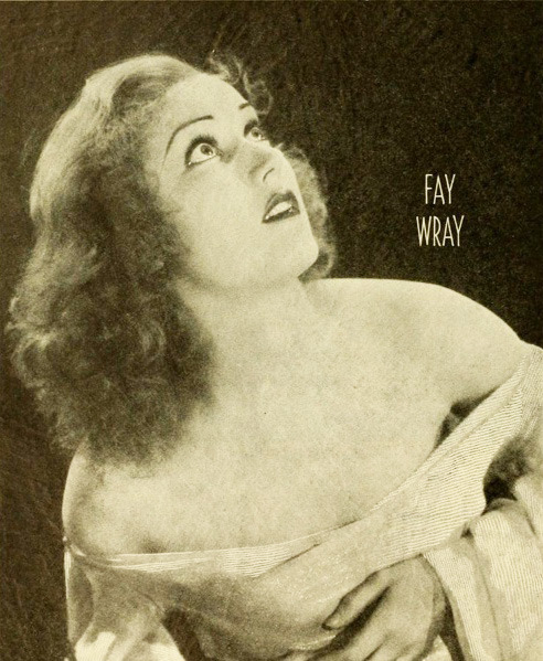 (via Flickr: Captain Geoffrey Spaulding's Photostream) king kong fay wray 1933