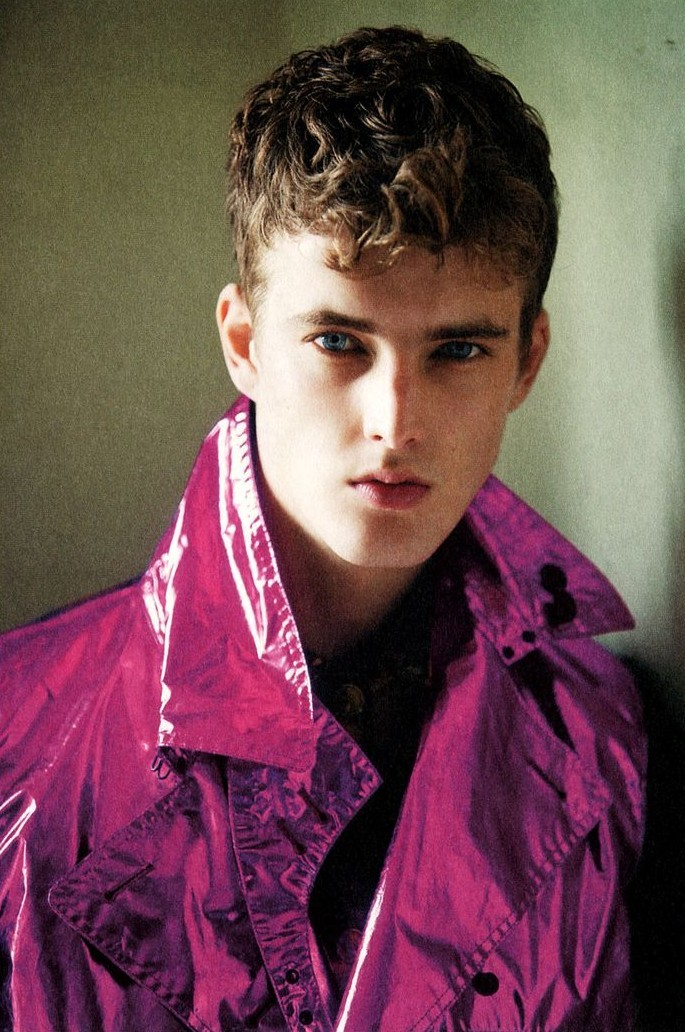 I want this jacket. homotography:  James Smith by David Armstrong | Room