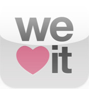 The We Heart It app is finally out! Download it now on the iTunes App Store! http://itunes.apple.com/us/app/we-heart-it/id539124565