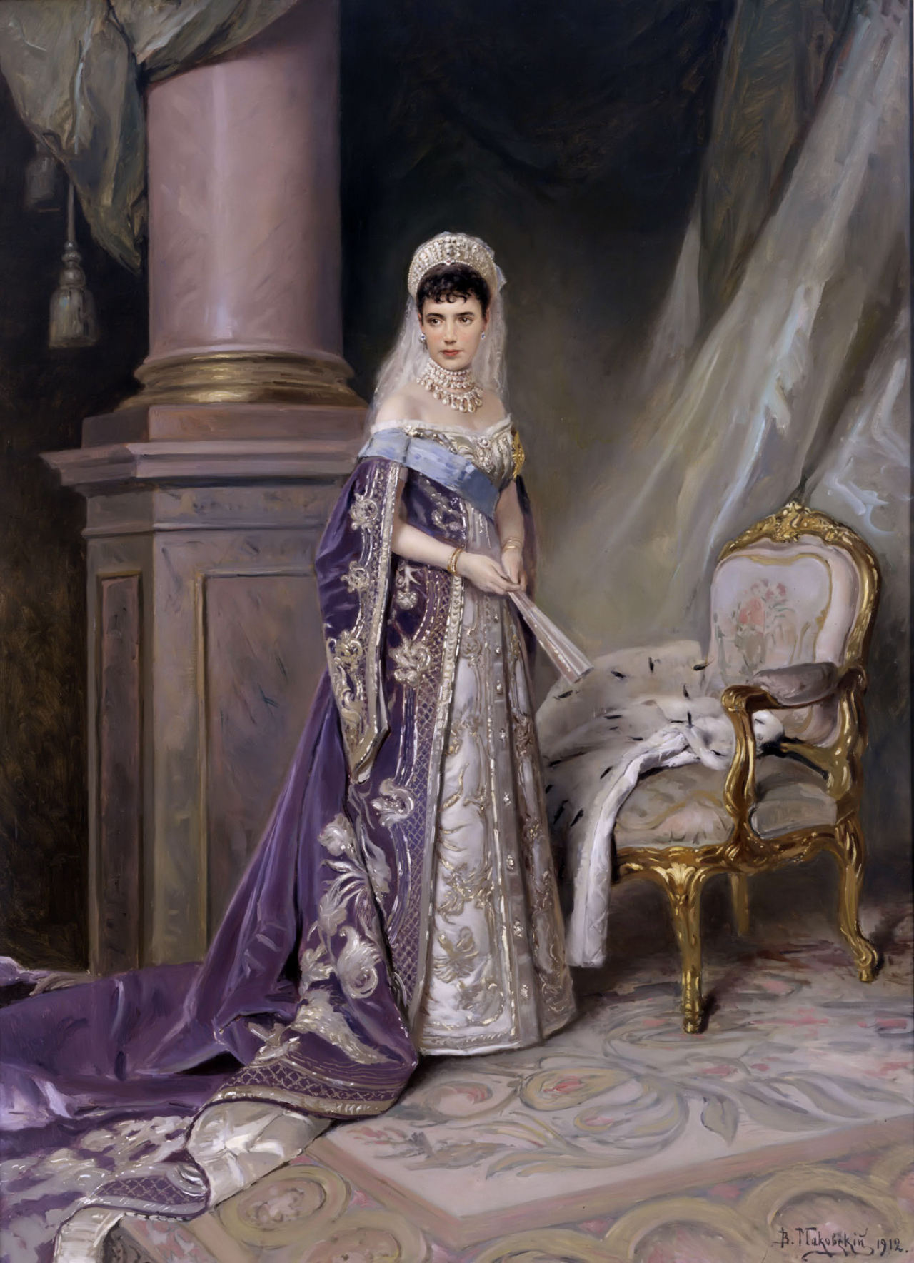 alldeadprincesses:  Maria Feodorovna (26 November 1847 – 13 October 1928), born Princess Dagmar of Denmark,  Empress consort of all the Russias