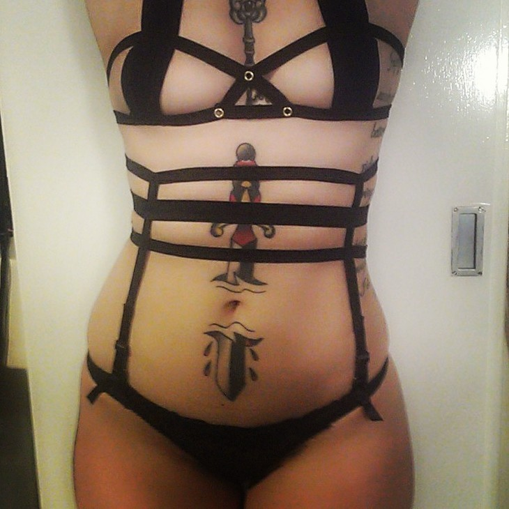 This little knicker suspenders belt will be going up for sale on peepingpussy.bigcartel.com tomorrow evening £7 xx