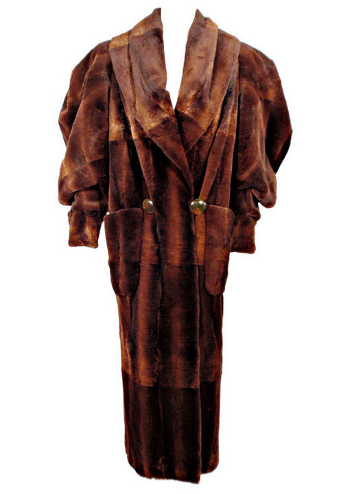 Coat Karl Lagerfeld for Fendi, 1980s 1stdibs.com