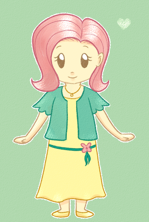 I played around a bit today and a chibi Fluttershy came out. Might try to draw others as well if I manage to replicate the style :3