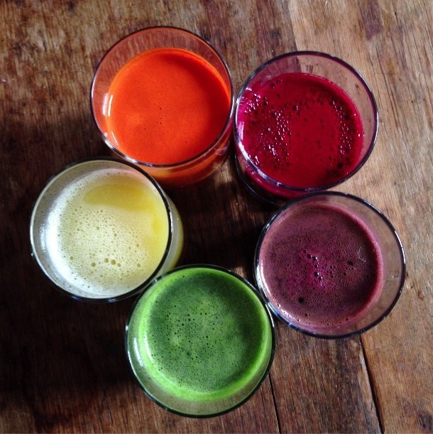 gettingahealthybody:  Delicious smoothies.