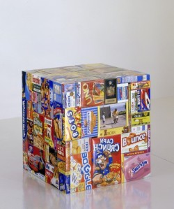 artruby:  Tom Friedman, Care Package (Manipulated), (2008).