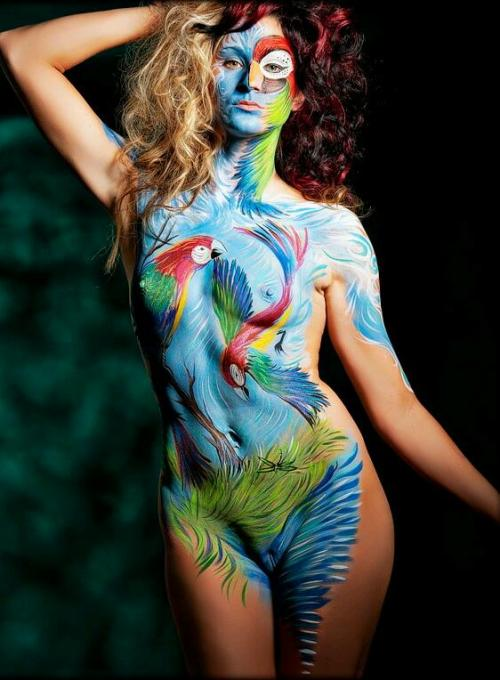 "ttsbodypaint:  ""The Twisted Scorpion""http://the-twisted-scorpion.tumblr.com ""Body Painting""http://ttsbodypaint.tumblr.com ""Tattoos & Piercings""http://ttstatsandmetal.tumblr.com"