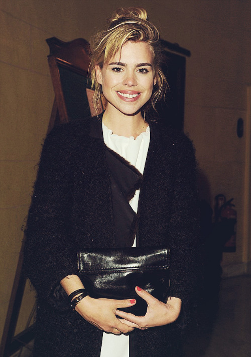billiepiedpiper:  Billie Piper attends The Hothouse Press Night: 09/05/13