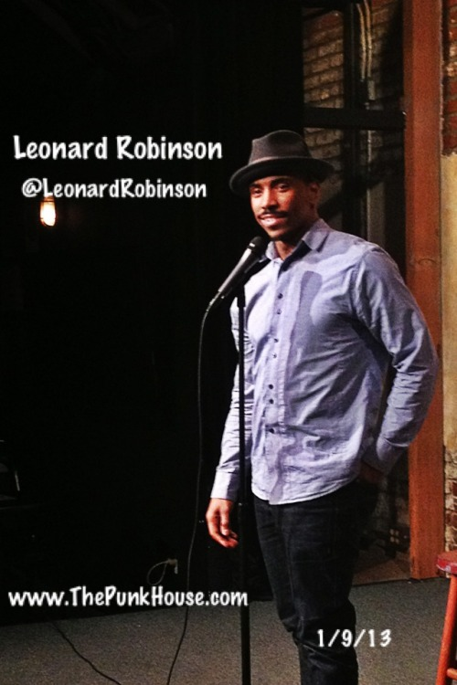 @LeonardRobinson at M.I.'s @WestsideComedy Theater