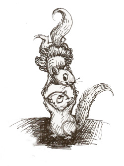 Cirque de Squirrle'  by hoddleypoddley  work doodle