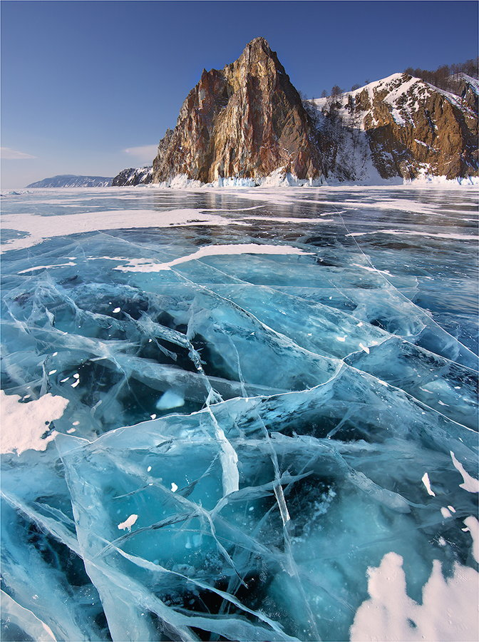 natvrel:  Baikal Lake by Yury Pustovoy