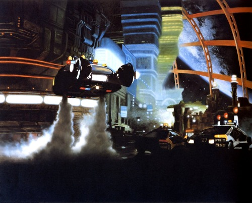 sciencefictiongallery:  Stephen Youll - Blade Runner Replicant Night