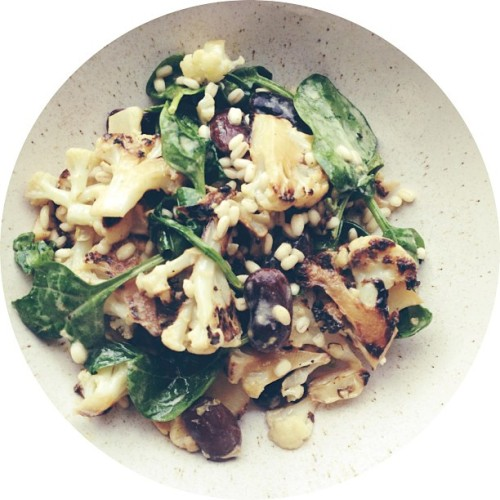 Warm cauliflower & barley salad (via @bonappetit) #taste
