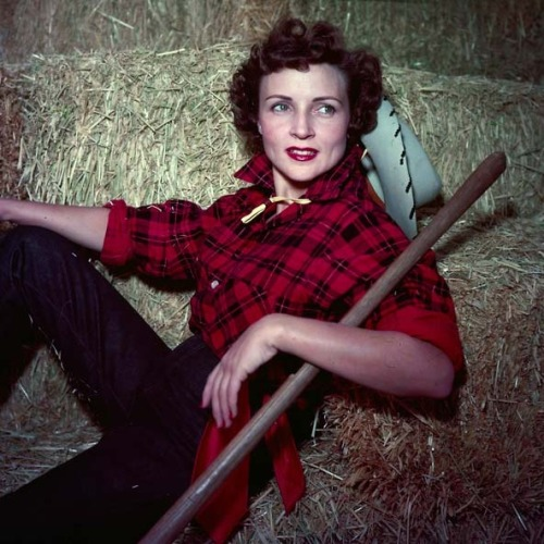 Betty White, Cowgirl.