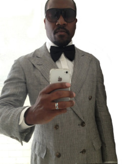 WIWT: Today was the BIG DAY! :-) Tom Ford Glasses Tom Ford Bowtie Ralph Lauren Purple Label DB jacket Tom Ford, Tom Ford, TOM FORD!!!