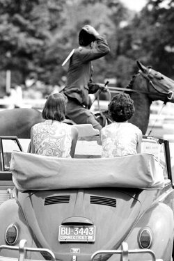 muffyaldrich:  Lilly(s) at the Ox Ridge Horse Show, 1966, Darien, Connecticut