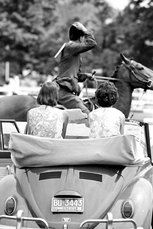 muffyaldrich:  Lilly's at the Ox Ridge Horse Show, 1966, Darien, Connecticut