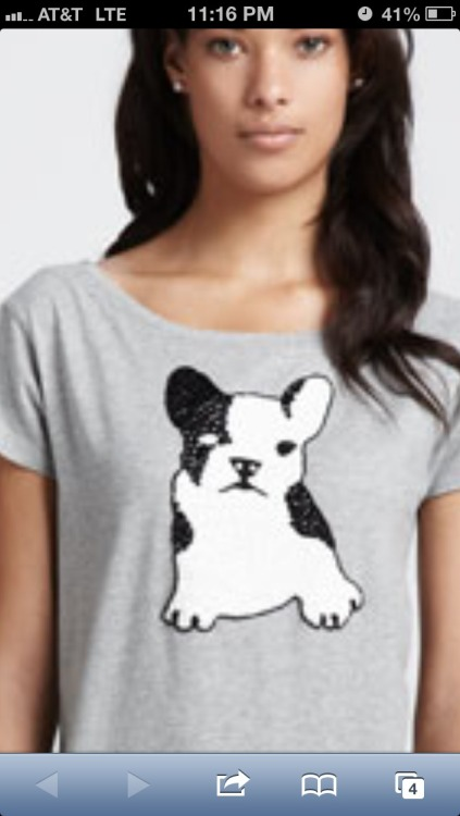 Yep bought another grey shirt with a frenchie.