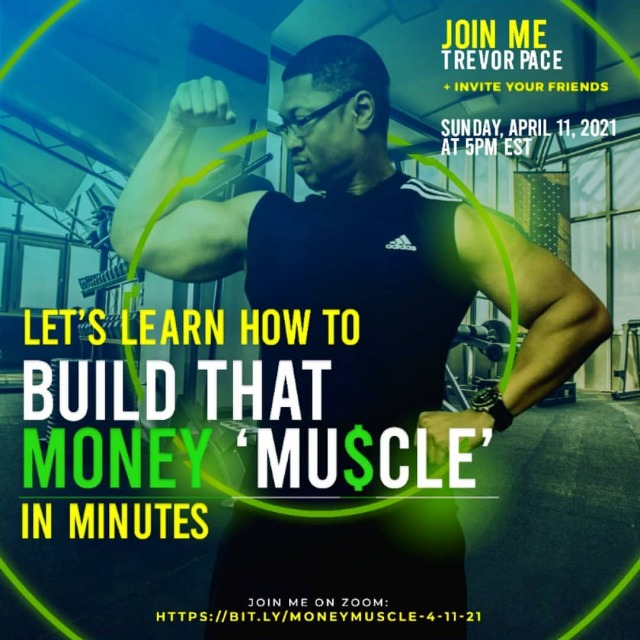I invite YOU to Learn as We Earn with my Financial Fitness Guest on this Sundays Zoom April 11, 2021 at 5pm EST >>> join us and please share this info https://bit.ly/MoneyMuscle-4-11-21 >> Were going to learn alot 👍🏾💵💪🏾💱... #WealthForLife #FinancialFitness #LearnToEarn #LetsGo  https://www.instagram.com/p/CNdlp-mhSCr/?igshid=atek71j8z6va #wealthforlife#financialfitness#learntoearn#letsgo