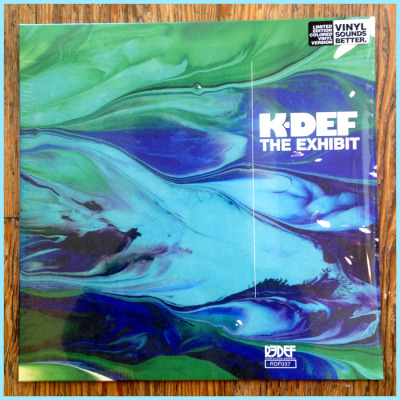 Just received my copies of the K-Def EP(Vinyl LP) I did for REDEF Records.  I've said it before but it's an absolute honor to do covers for the likes of K-Def.