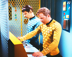 MY EDIT star trek spock captain kirk star trek tos trekedit