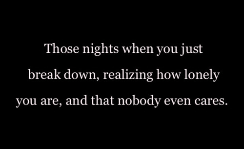 I'm having one of those nights every night lately.