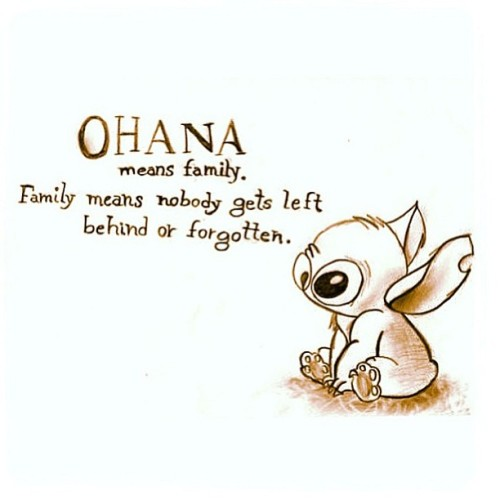 lovelikegrande:  Love this💕 #stitch #ohana #family
